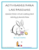 FREE Spanish Easter Virtual Greeting Cards and Acrostic Poem!