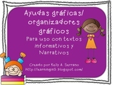 Free Graphic Organizers fon Non Fiction in Spanish ( Commo