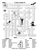 FREE Spanish Halloween Crossword Puzzle. La Noche de Brujas en Español