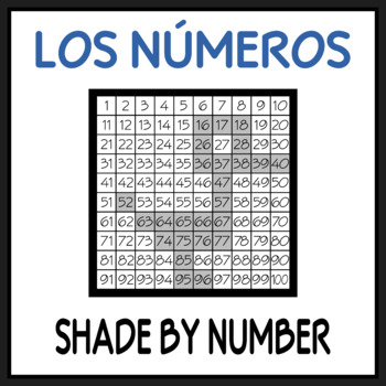 FREE Spanish Number Worksheet