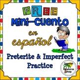 FREE Spanish Preterite and Imperfect Mini Cuento Sample