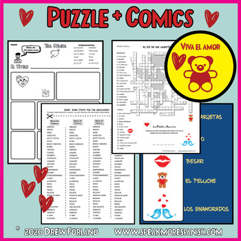 Enterprising image for valentine crossword puzzle printable