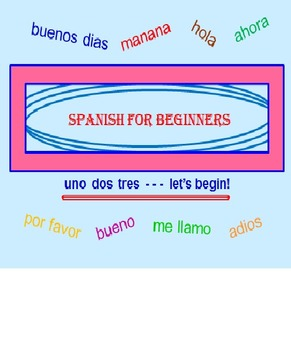 FREE Spanish for Beginners Powerpoint PREVIEW