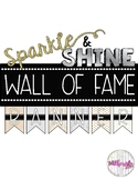 "FREE Sparkle & Shine ""Wall of Fame"" Banner - Reading Incentive"