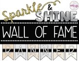 "FREE Sparkle & Shine ""Wall of Fame"" Banner - Reading Incen"