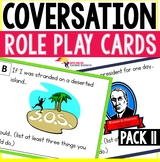 Speaking Role Play Cards Pack 11 ESL Speaking and Listenin