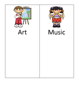 FREE Special Classes Visual Schedule Cards