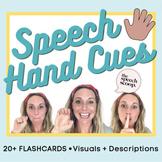 FREE Speedy Speech Sound Hand Cues PDF