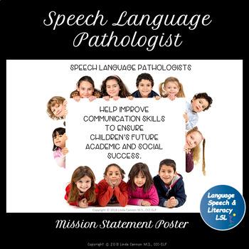 Speech Language Pathologist Inspiration Poster