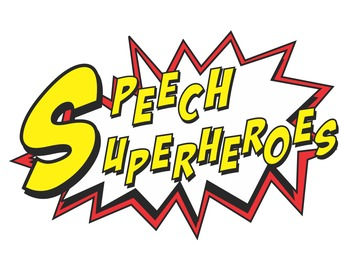 FREE Speech Superhero Punch Cards and Reinforcers