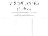 Speech Therapy: Visual Cue Flip Book