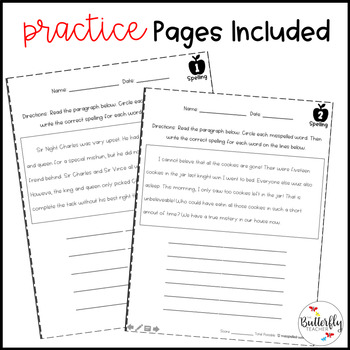 FREE Spelling Worksheets | 3rd-5th Grade Spelling Practice