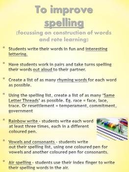 FREE Spelling and Vocabulary Activities