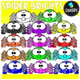FREE Spider Brights Clip Art Bundle {Educlips Clipart}