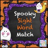 Halloween Sight Word Games Kindergarten FREE