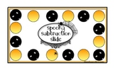 FREE Spooky Subtraction Slide Game