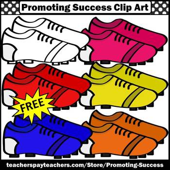 FREE Sports Clipart, Cleats, Soccer Clip Art, Baseball, Football SPS