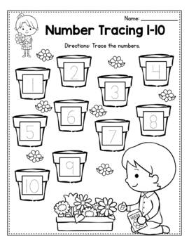 FREE Spring Activities For Kindergarten (Literacy No Prep)