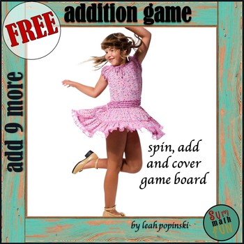 FREE Addition Activity: Spin, Add, Color