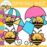 FREE Spring Bee Clip Art