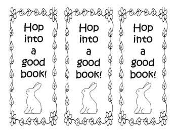 FREE Spring Bookmarks