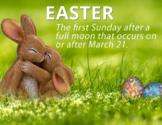 FREE - Spring | Clip Art & Poster | Easter
