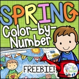 FREE Spring Color-by-Number
