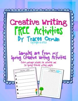 FREE Spring Creative Writing Exercises