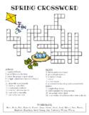 Spring Crossword Puzzle