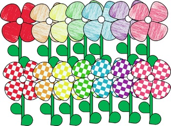 Free Spring Flowers Clip Art By Oh So Cute Oflaherty Tpt