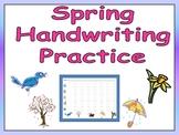 FREE Spring Handwriting Practice- Kindergarten & 1st Grade