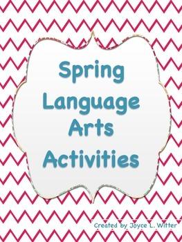 FREE Spring Language Arts Activities Grades 1-2