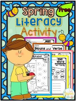 FREE Spring Literacy Activity