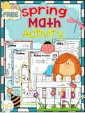 FREE Spring Math Activity