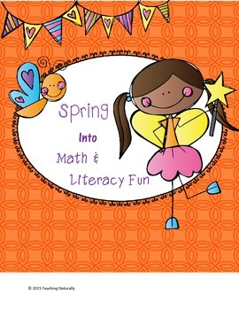 FREE Spring Math and Literacy Printables