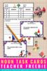 FREE Noun Task Cards, Nouns First Grade, Nouns Activities, Summer School Games