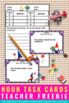 FREE Nouns Task Cards for Spring or Summer Parts of Speech