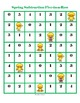 FREE Subtraction Games - Spring Five-in-a-Row!
