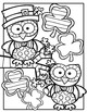 FREE St. Patrick's Day Coloring Book {Made by Creative Clips Clipart}
