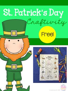 FREE St. Patrick's Day Craftivity