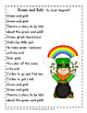 FREE St. Patrick's Day Leprechaun Poems and Fluency Practice K-3