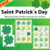 FREE Saint Patrick`s Day Activity for Autism