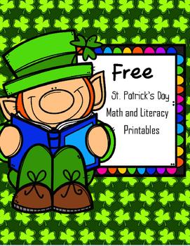 FREE St.Patrick's Day Printables