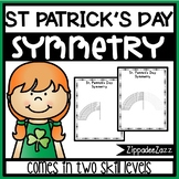 FREE St. Patrick's Day Symmetry Drawing Activity for Art and Math SAMPLE