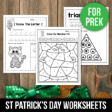 FREE St Patricks Day Activities For Kindergarten (Math & L