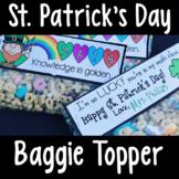 FREE St. Patrick's Day Bag Topper