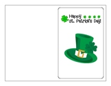 FREE St. Patrick's Day Card