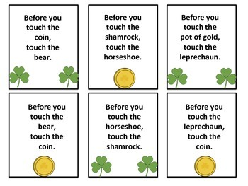 FREE St. Patrick's Day Following Directions: Before/After Concepts