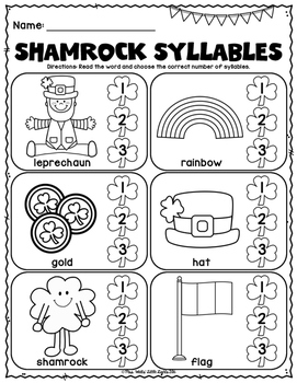 picture about St Patrick's Day Worksheets Free Printable called Cost-free St. Patricks Working day Literacy and Math Printables