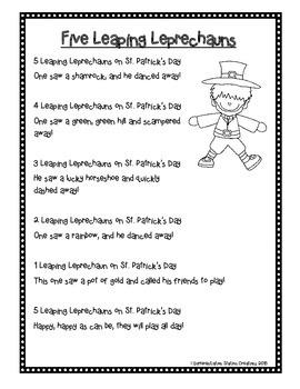 FREE! St. Patrick's Day Poem